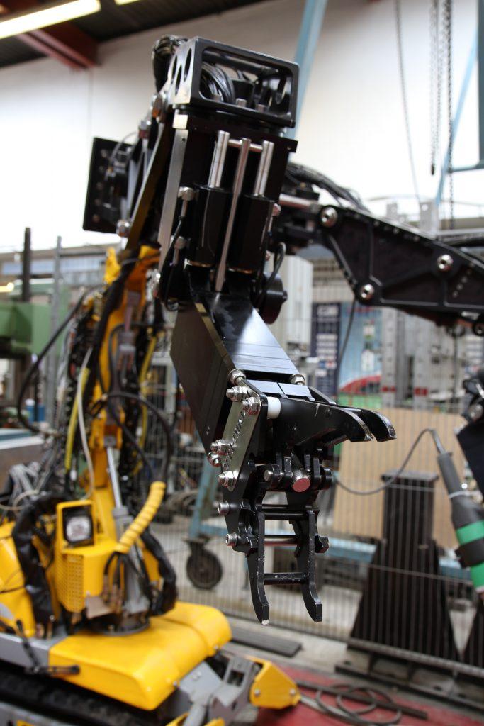 Photo of robotic manipulators