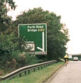 Photograph of cyclist