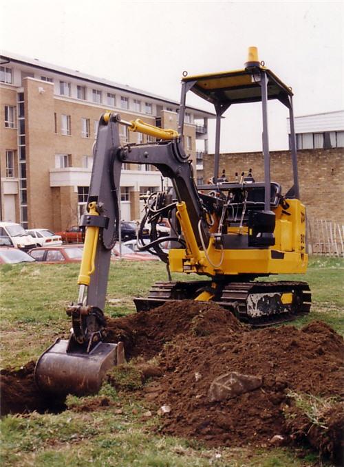 Photo of excavator