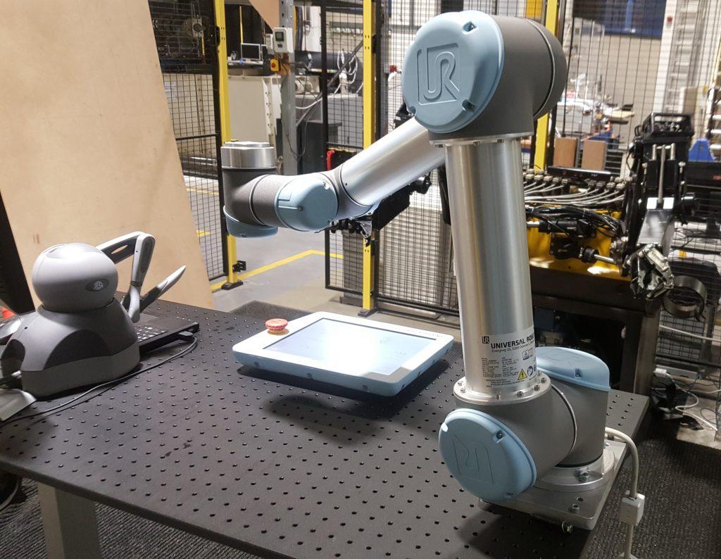 Photo of UR5 robot