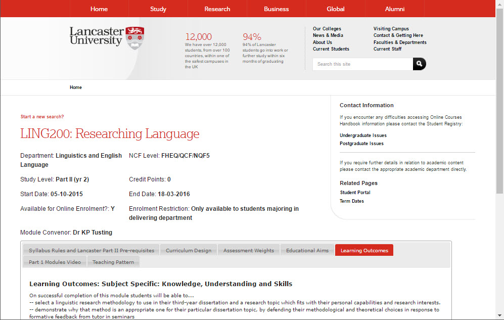 LING200 Moodle
