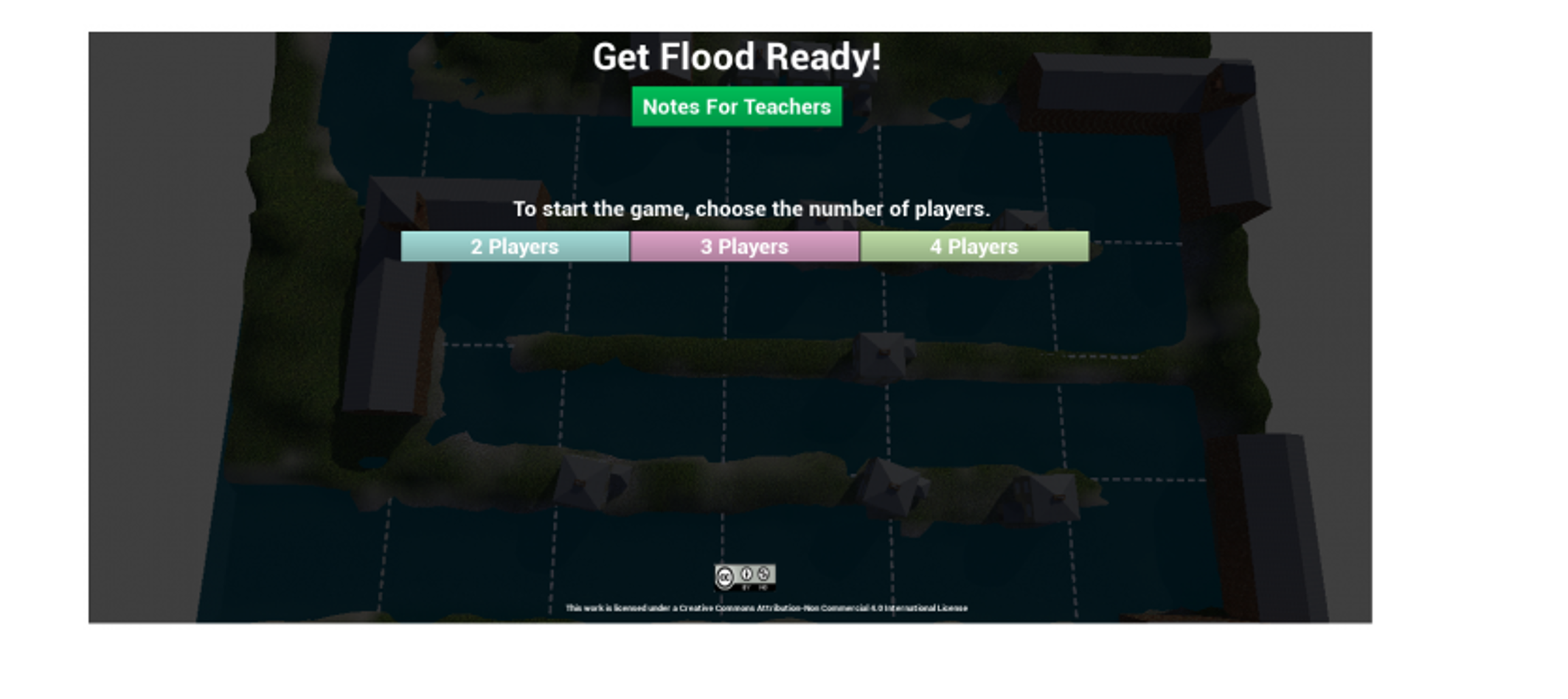 screenshot of Get Flood Ready! game