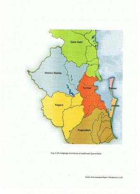 Aboriginal Language Map Queensland