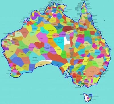 Aboriginal Language Map Tindale