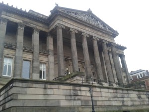 Exterior view of Harris Museum, Preston