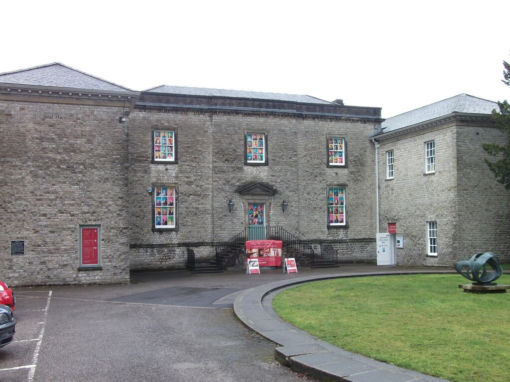 Exterior view of Abbot Hall, Kendal