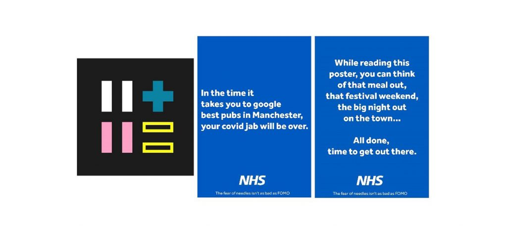 Posters for vaccination campaign
