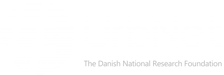 Logo of the Centre for Urban Network Evolutions