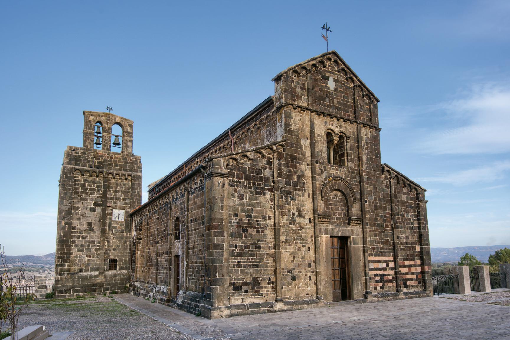 Santa Maria del Regno, façade. Ardara (Sassari)