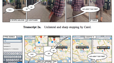 9 March 2016: Mediated Pedestrian Mobility: Walking and the Map App