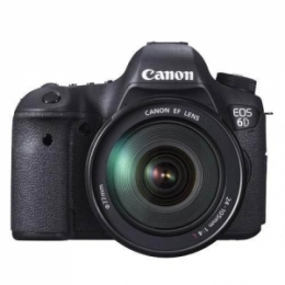 Canon EOS 6D with 24-105mm Lens Kit