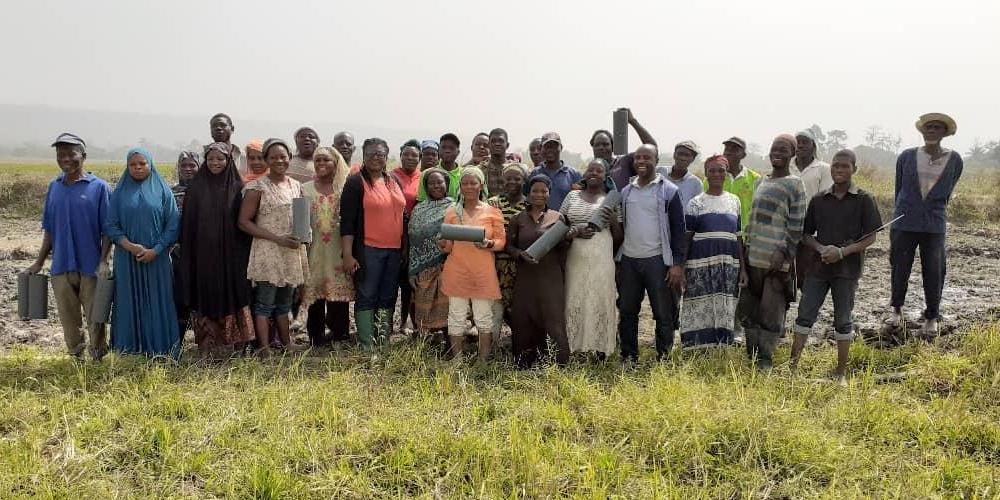 Farmers visiting CRI Kumasi