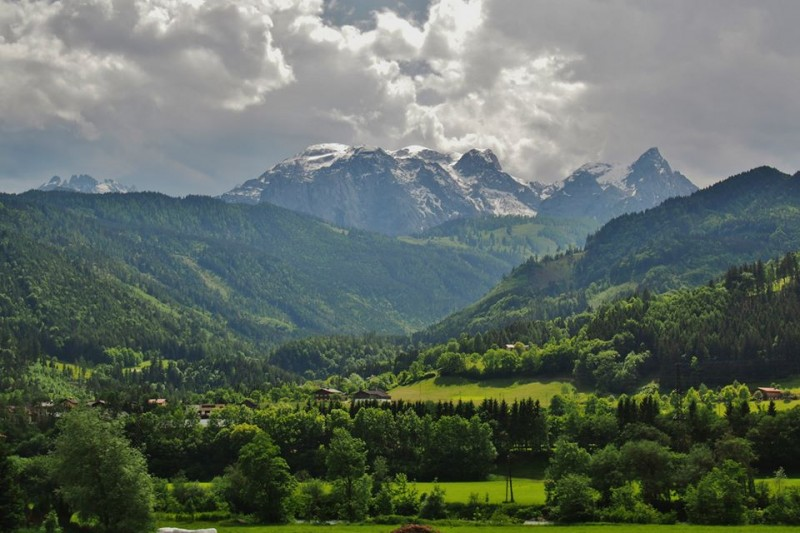 In image of the Austrian landscape, taken by Katie Gough