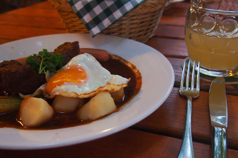 Image of an Austrian meal