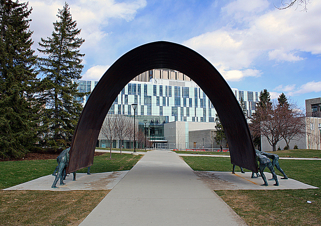 Image of the University of Calgary arches