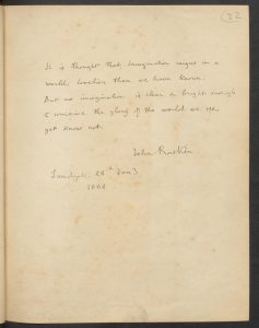 Constance Wilde's autograph book