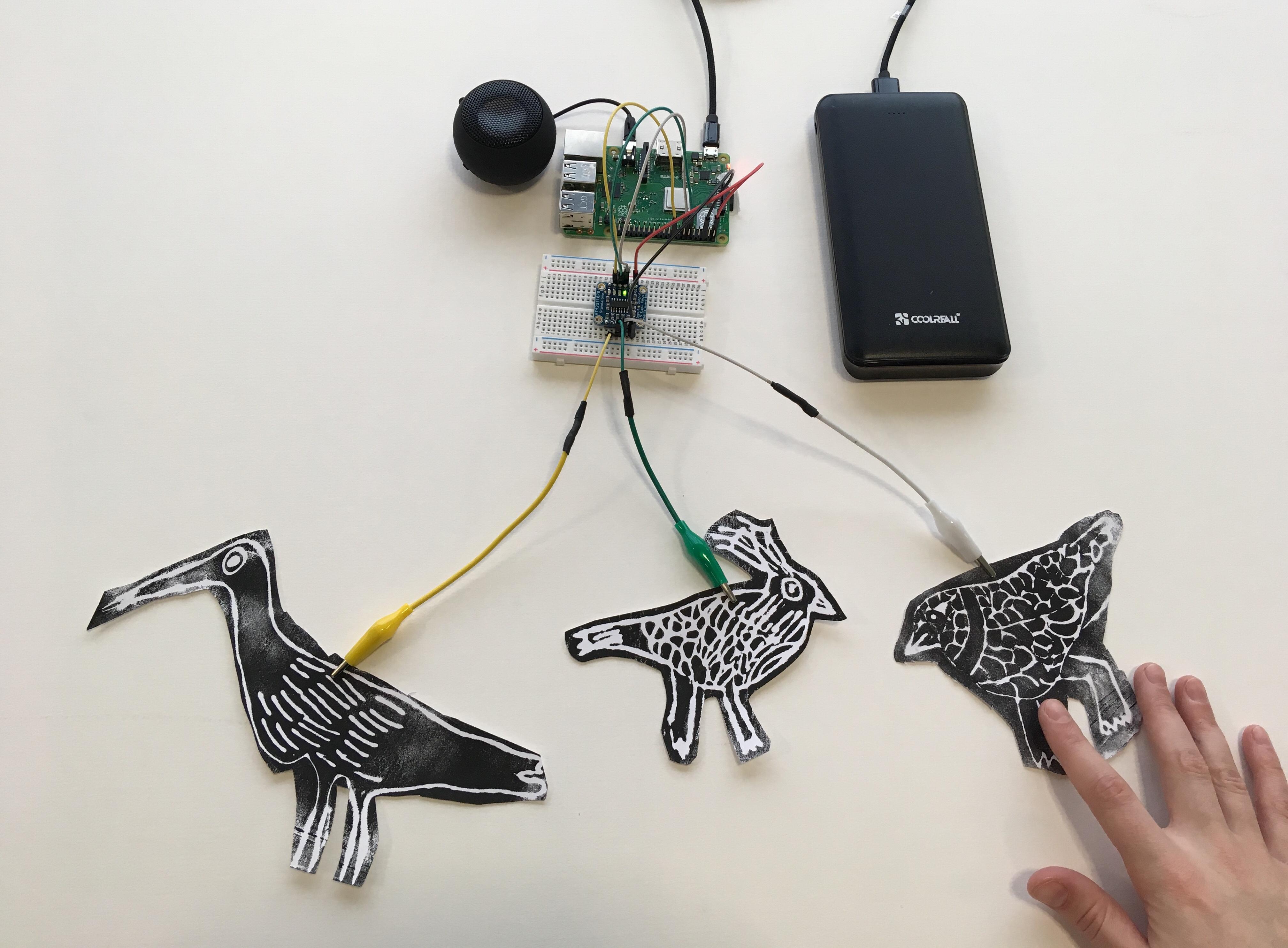 Bird call prints