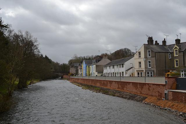 Cockermouth, Cumbria self-raising barrier