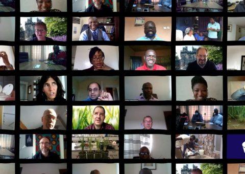 Photo montage 2020 virtual meeting