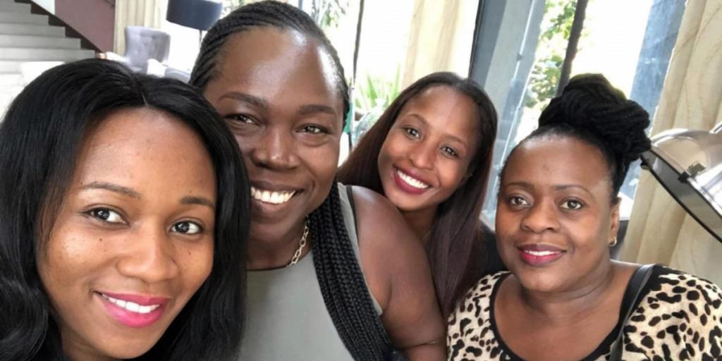WINA Ladies - LU Ghana Visit